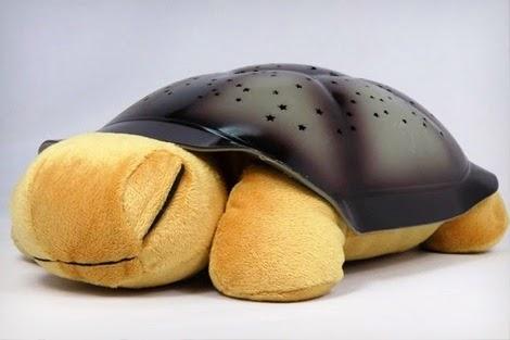Magická svítící želva - hnědá