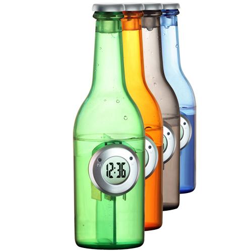 Vodní hodiny v láhvi