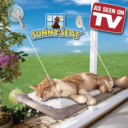 Závěsný pelíšek pro kočky Sunny Seat