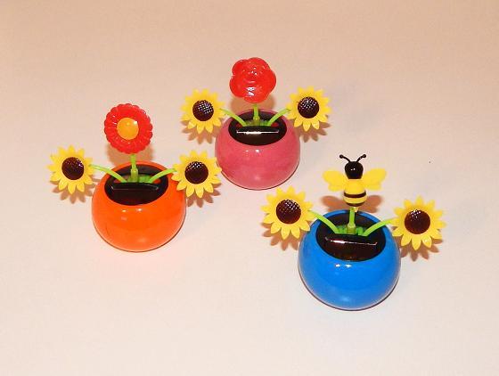 Tančící solární květina