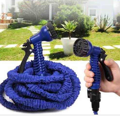 Smršťovací zahradní hadice 22,5m s pistolí